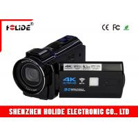 China 4K WIFI High Definition Digital Camcorder With 3.7V 2500mAh Rechargeable Battery on sale