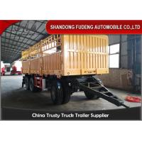 Wholesale Transport Dry Cargo 20 Ft H Beam Q345B Draw Bar Trailer from china suppliers