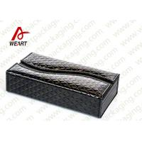 Wholesale Glossy Hand Bag Leather Cosmetic Box , Custom Cardboard Display Boxes With Logo from china suppliers