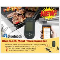Wholesale Mieo Remote Bluetooth BBQ Thermometer with Grill Temperature for iOS and Android Smart Phone Control from china suppliers