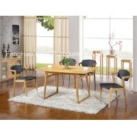 Wholesale Customized Soild Rustic Wood Restaurant Tables With Dining Chair from china suppliers