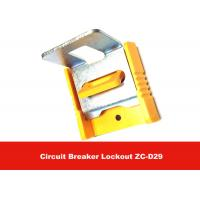 China Safety Electronic Plastic Body Circuit Breaker Lockout with 3M Adhesive on sale