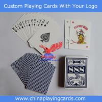 China Custom Paper Playing Cards on sale
