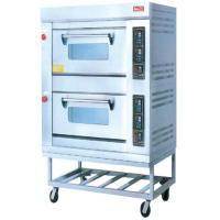 Wholesale Gas 220V Electric Baking Ovens RQL-24BQ With Two Layer For Commercial Kitchen from china suppliers