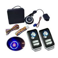 China Universal Car Alarm One Button Smart start system with vehicle gps locator on sale