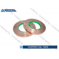 China Self - Adhesive Copper Shielding Tape With Conductive Acrylic Adhesive on sale
