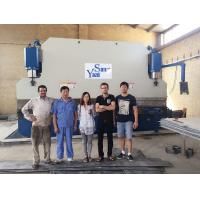 400 Ton Plate Pipe Hydraulic Press Brake Bending Machine With 3.2m/4m/5m/6m