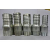 Wholesale Galvanized iron king nipple with BS,NPT thread from china suppliers