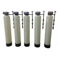 China Automatic Water Softener System Flush Hardness Remove With Cation Resin on sale
