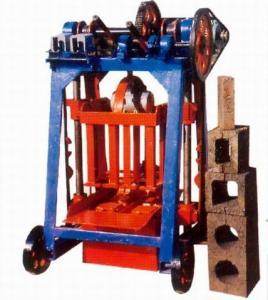 China low cost concrete brick making machine on sale