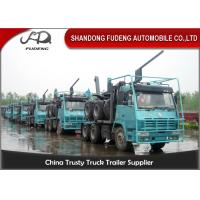Wholesale 3 Axle Logging Heavy Equipment Trailers For Forest Timber Transportation from china suppliers