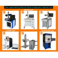 Wholesale All type 20w fiber lazer marking machine for color and deep mark from china suppliers