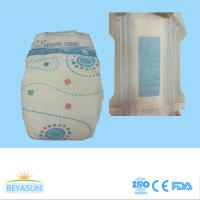 Wholesale Non Toxic Disposable Diapers For Babies With Sensitive Skin , Cotton Top Sheet from china suppliers