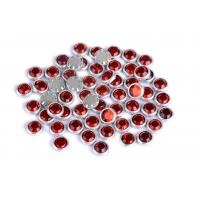 Flatback Loose Rimmed Rhinestones High Color Accuracy With Shinning Facets