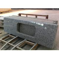 China 1800 X 600mm Prefabricated Slab Granite Countertops With Sink Hole on sale