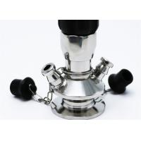 China Pharmaceutical Industry 3A TP 304 Sanitary Sample Valves , Aseptic Sample Port Valve on sale