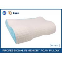 Wholesale Different Height  Wave Memory Foam Contour Pillow with Deluxe Comfort Pillow Cover from china suppliers