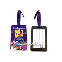Wholesale Soft PVC rubber luggage tag supply personalized luggage tag custom from china suppliers