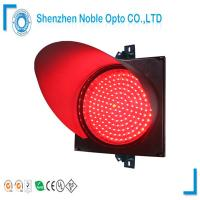 Wholesale 300mm Clear Lens Red Traffic Light Model With PC Material Housing from china suppliers
