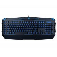 Wholesale AULA SI-863 Rubber Membrane Keyboard With 3 Colors Backlit Cool Shape from china suppliers
