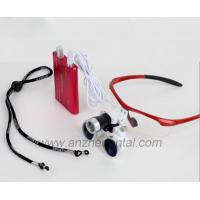 Buy cheap High quality dental loupes factory good price colorful 2.5x 3.5x China factory from wholesalers
