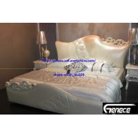 China New Design Girls Bedroom King Leather Bed on sale