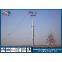 Wholesale 69KV Hot Dip Galvanized Electric Steel Tubular Pole for Electrical Line from china suppliers