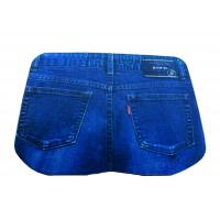 Wholesale Jeans Shape Natural Rubber Bottom Soft Top Mouse Mats for Jeans Promotion from china suppliers