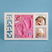 Wholesale High End Ornament Photo Frame 34X21.5CM Baby Hand And Foot Impressions from china suppliers