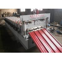 China PLC Control IBR Sheet Metal Roll Forming Machines 13 Rows with 0.3-0.7mm Thickness on sale