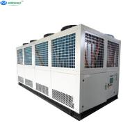 Wholesale Best Quality 50 tons 100 TR Air Cooled Industrial Screw Water Chiller from china suppliers