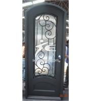 SE iron doors
