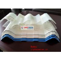Wholesale Plastic semi-Transparent PVC Roof Sheet Machine , Corrugated PVC roof tile Forming Machine from china suppliers