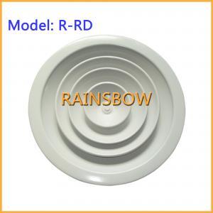 China Round Air diffuser R-RD supply  return aluminium air grille air register air vent grille air diffuser on sale