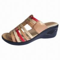 Wholesale Bestseller Model Wedge Shoe, Comfortable, Made of PU Material from china suppliers