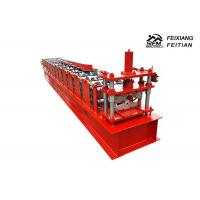 Wholesale 4.8 Tons Roof Ridge Cap Roll Forming Machine , Metal Steel Roof Roll Forming Machine from china suppliers