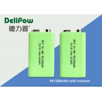 9V Rechargeable Battery For Digital Camera , 180mAh Rechargeable Nimh Batteries