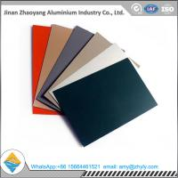 Roofing Panel Color Coated Aluminium Alloy Sheet 1100 1060 1050 H24 / H14 0.6mm