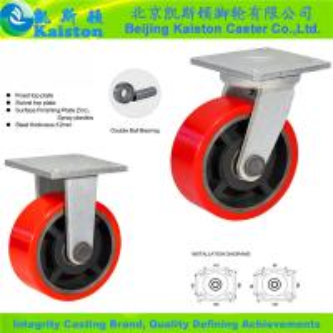 China KI2012 Kaiston Super Heavy duty castor wheels on sale