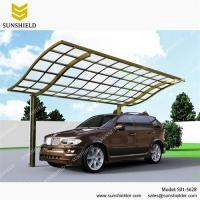 China Prefab Aluminum Patio Cover with Polycarbonate Roof/aluminum patio cover/patio awnings/terrace cover/polycarbonate patio on sale