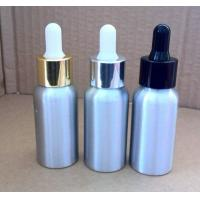 Wholesale 20ml,30ml,50ml,80ml,100ml dropper aluminium bottles for essential oil from china suppliers