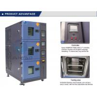 Wholesale Vehicle Temperature Humidity Test Chamber , 3 Layer Air Cooling Climatic Stability Testing Equipment from china suppliers