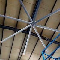 Wholesale Electric Workshop Metal Blade Ceiling Fan , 22 FT Industrial Shop Ceiling Fans from china suppliers