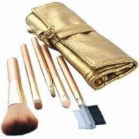 Wholesale Makeup Brush Set with Aluminum Ferrules from china suppliers