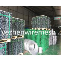 Wholesale Hot Dipped Galvanizedbarbed wire/cheap barbed wire price per roll/barbed wire roll price fence Razor Barbed Wire from china suppliers