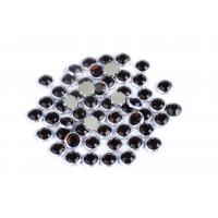 Wholesale Custom Color Rimmed Rhinestones Flatback Good Stickness High Color Accuracy from china suppliers