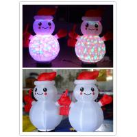 Wholesale Lighting Inflatable Snowman for Christmas and Promotion Decoration from china suppliers