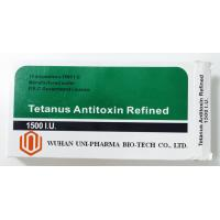 Wholesale Tetanus Antitoxin Refined 1500 I.U Subcutaneous/I.V. Injection Medicine for treatment and prevention of tetanus from china suppliers