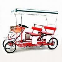 China Surrey Bike Quad-cycle, Four Passengers will Cycle at Same Speed, Frame Made of Steel on sale