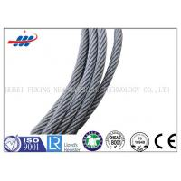 Wholesale High Carbon Galvanized Steel Wire Rope 7*7 For Cable Car / Belt Conveyer from china suppliers